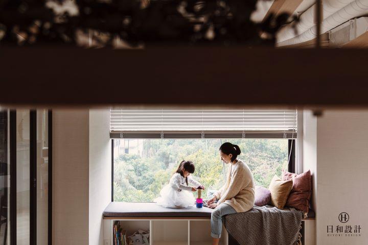 每一個趣味的端景都成為親子互動關係的永恆畫面。(圖 .日和設計 提供)