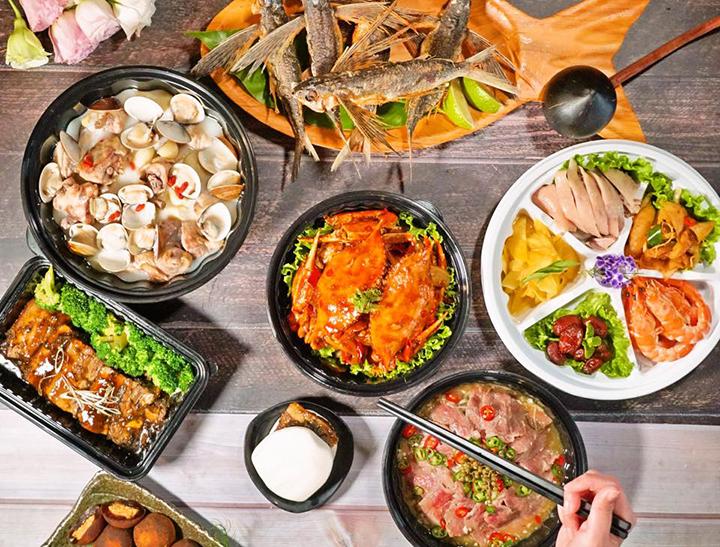 母親節外帶2999套餐。 (圖. 芭達桑原住民主題餐廳提供)