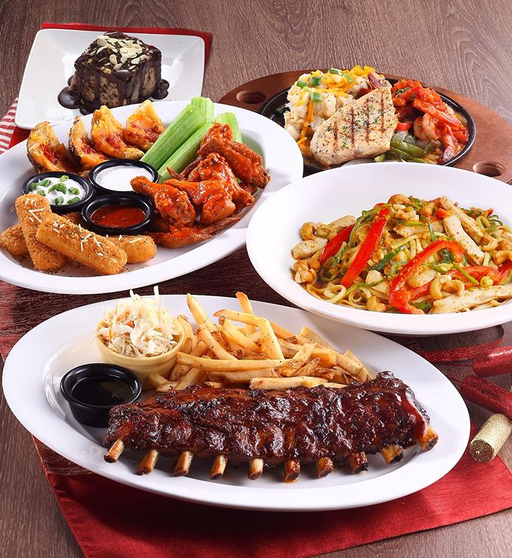 母親節共享美味雙人四人套餐 (圖. TGI FRIDAYS提供)