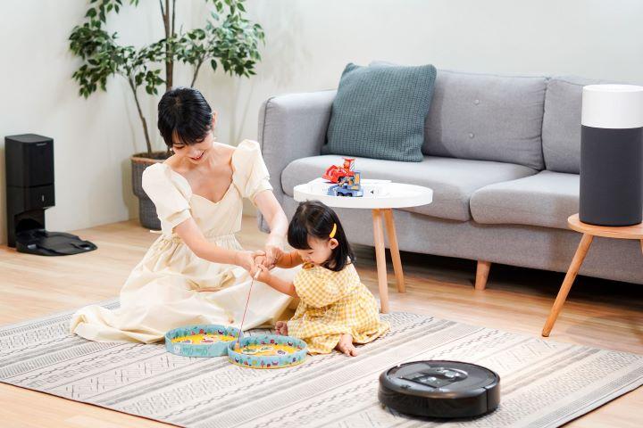 智能掃地機器人為小空間家庭帶來更便利舒適的生活。(圖.iRobot  提供)
