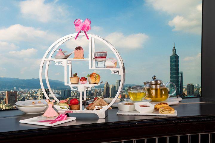 香格里拉台北遠東國際大飯店每年10月,均推出公益防治乳癌下午茶。 (圖.香格里拉台北遠東國際大飯店  提供)