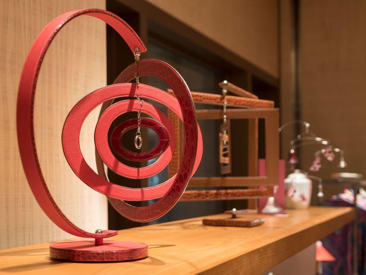 裝飾物件更能彰顯工藝師的功力細節。(圖.愛馬仕提供)
