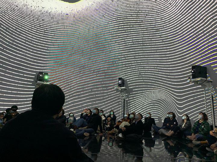 強調前衛與實驗性質的台灣當代文化實驗場,體現數位時代特有的藝術演出形式和創作方式。(圖.Jimmy 攝影)