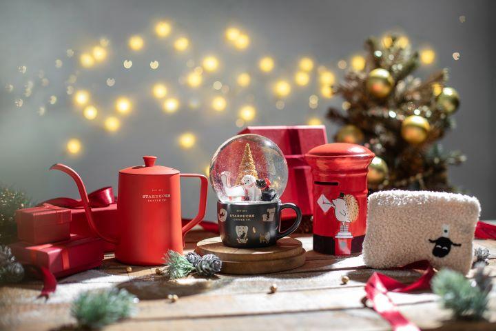 星巴克每年的聖誕系列產品一推出後都瞬間秒殺。 (圖.星巴克 提供)