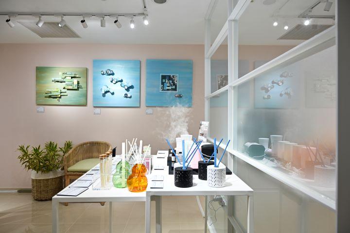 香氛設計產品一向是巴黎時尚家居設計展的重頭戲。(圖.陳思明 攝影)
