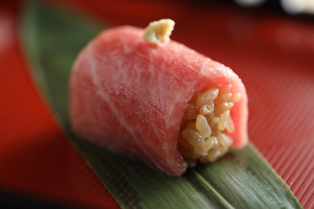 黑鮪魚大腹肉。 (圖.米匠提供)