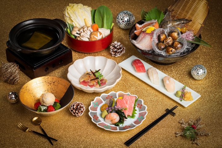 香格里拉台北遠東7樓 ibuki 日式餐廳推出新年火鍋饗宴。(圖.香格里拉台北遠東國際大飯店 提供)