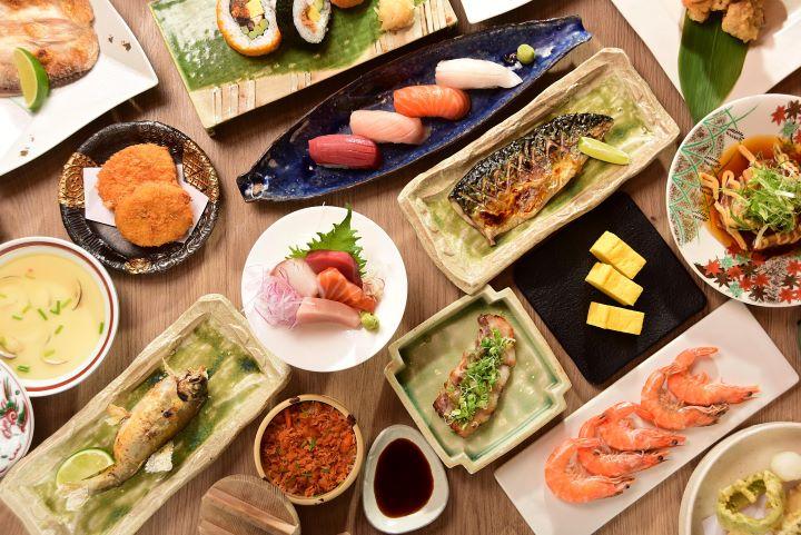 神旺大飯店的澄江日本料理新年推出吃到飽餐飲活動。(圖.神旺大飯店 提供)