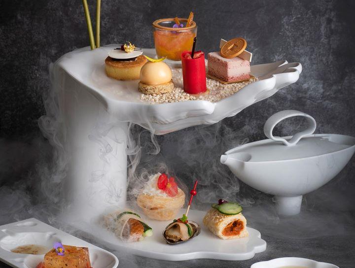 開年新氣象,各大飯店紛紛推出跨界聯名午茶,以美好的滋味喚醒嶄新的新年新希望。(圖.香格里拉台北國際遠東大飯店 提供)