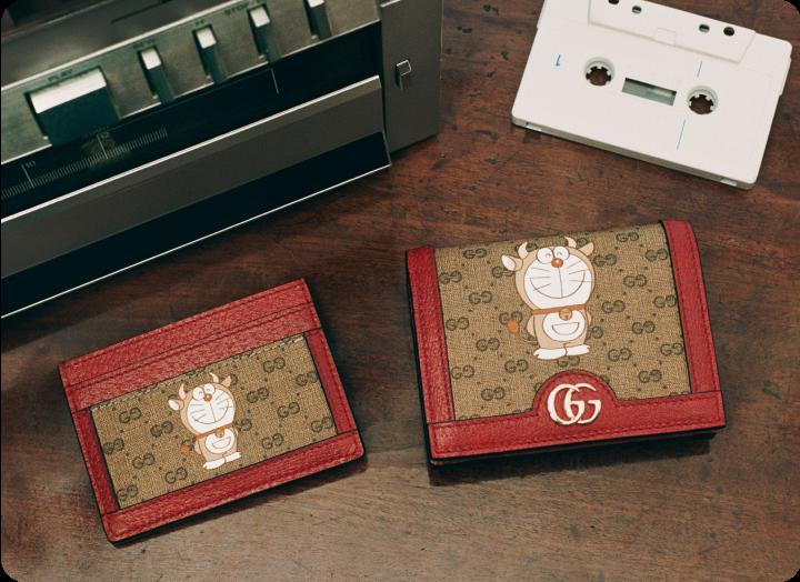 實用的隨身錢包和卡夾。(圖.GUCCI 提供)