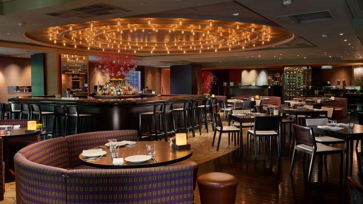 台北君悅酒店二樓的Ziga Zaga,是許多台北人約會的首選。(圖.台北君悅酒店 提供)