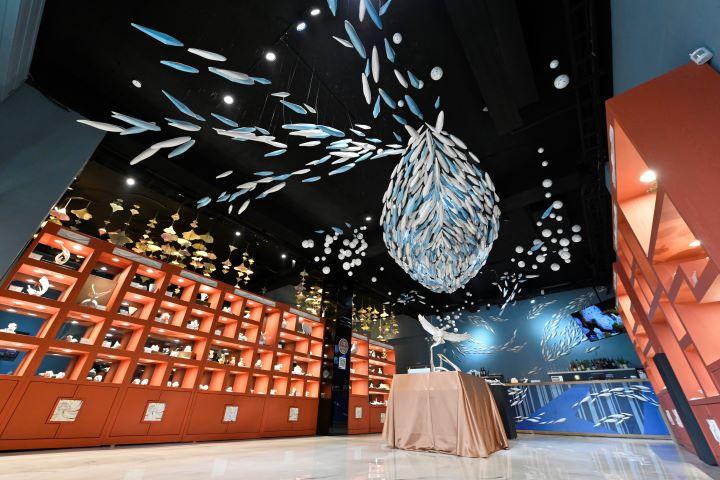 從旗津窯一直到1300,創辦人沈亨榮將瓷器藝術帶入日常生活中。(圖.陳思明 攝影)