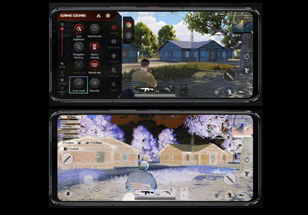 ROG Phone 5偵察模式(下)。(圖.華碩提供)