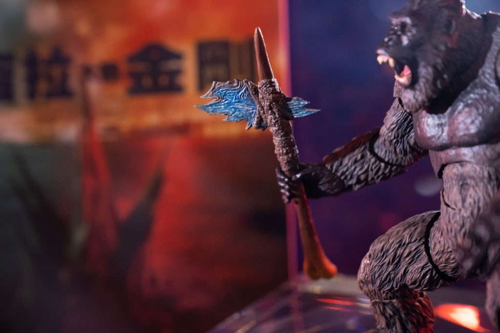 《哥吉拉大戰金剛》金剛(2021)。(圖.徐嘉駒)