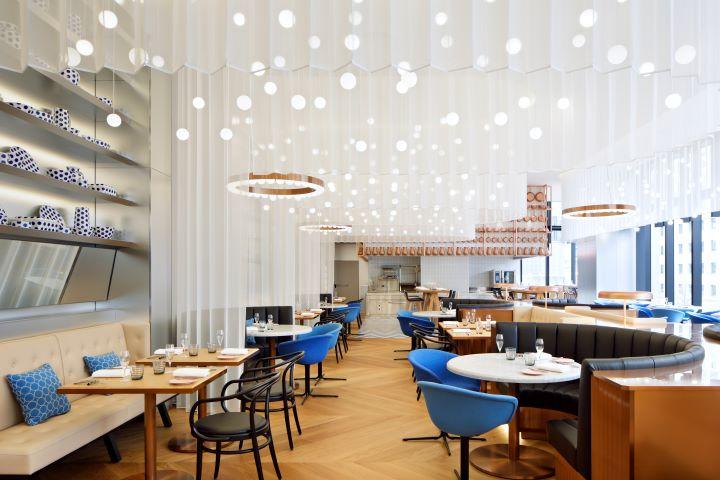 邀請米其林二星名廚高田裕介跨刀合作的法式料理餐廳「Oh.LALA…」。(圖.W Osaka 提供)