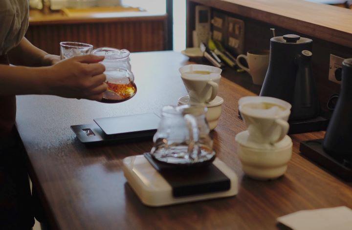 「Pergram沛克咖啡」依客人需求可提供手沖和義式咖啡。(圖.沛客咖啡 提供)