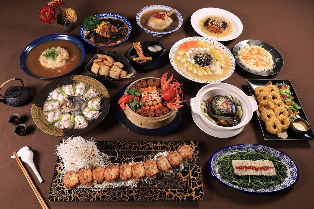看起來、吃起來都十分大器的「裕仁皇太子宴」。 (圖.台南晶英酒店提供)