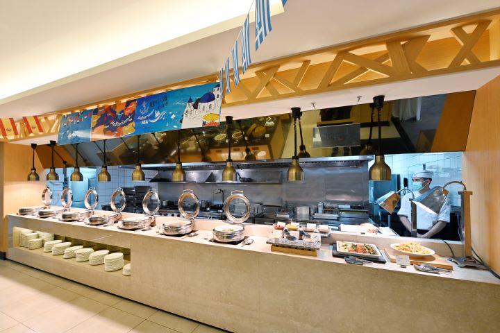 首檔美食活動特別以環地中海地區的健康美食料理為主。(圖.陳思明 攝影)