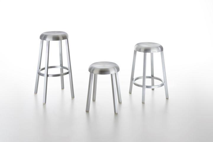 Emeco今年度攜手日本設計大師深澤直人合作推出的Za單椅。(圖.明日選物 提供)