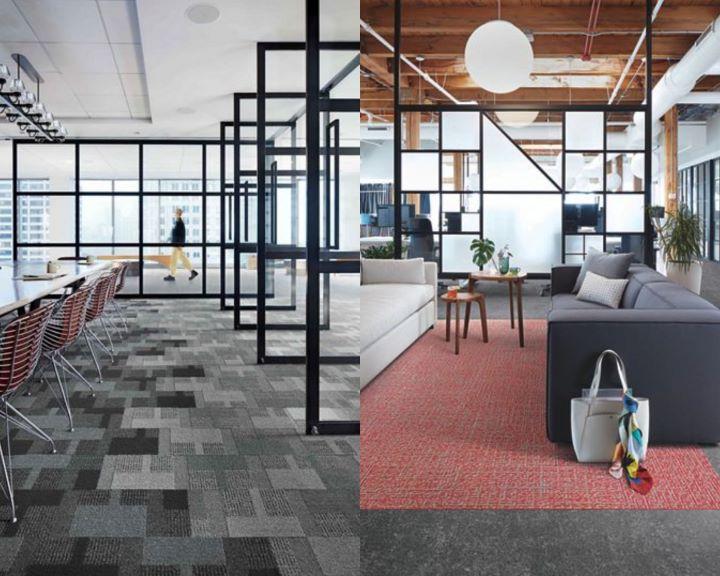 創立以來即以環保回收為品牌核心的INTERFACE地毯織品。(圖.安得利集團 提供)