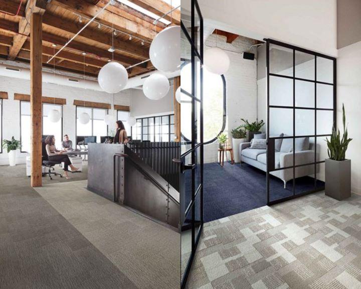 INTERFACE 推出首款負碳地毯系列-Embodied Beauty™ 系列。(圖.安得利集團 提供)