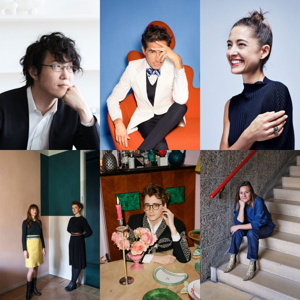 今年的「Life in VOGUE」線上虛體展,邀請9大設計師共同策劃參展。(圖.Life in VOGUE 提供)