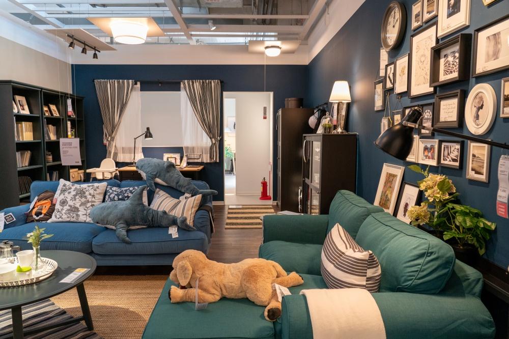特別針對大台北小坪數居家空間的形式,推出相對應的靈感創意空間。(圖.林玉偉 攝影)